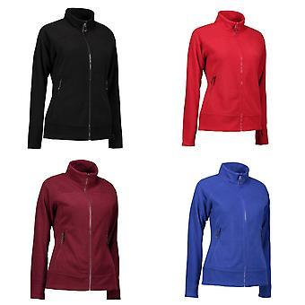 ID Womens/Ladies Zip N Mix Active Fleece Jacket