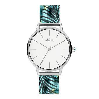 s.Oliver Ladies Watch Wristwatch Stainless Steel SO-3978-MQ