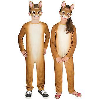 Rabbit Easter Bunny Wild Animal Jungle Pet Book Week Unisex Girls Boys Costume