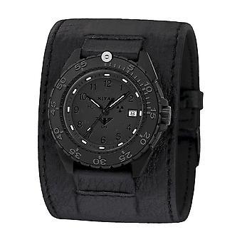KHS Wristwatch الرجال المنفذ الأسود الصلب XTAC CR KHS. ENFBSCRXT. Lk