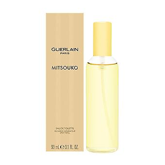 Mitsouko by guerlain for women 3.1 oz eau de toilette spray recharge
