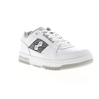 British Knights Kings SL Low Mens White Lace Up Lifestyle Sneakers Shoes