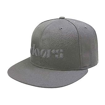 The Doors Baseball Cap Classic Band Logo new Official Silver Grey Snapback