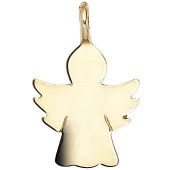 الاطفال قلادة الملاك الملاك الحارس 585 الذهب الذهبي الذهب الأصفر قلادة الأطفال