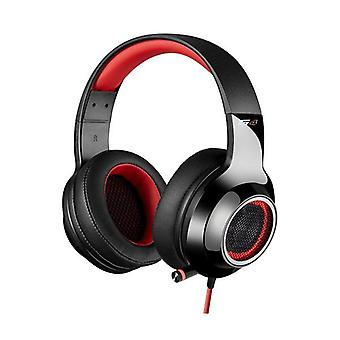 Edifier V4 Virtual Surround Sound Usb Gaming Headset Red