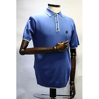 Lineker Trim Knitted Polo Shirt