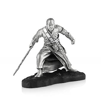 Star Wars By Royal Selangor 017901 LIMITED EDITION Chirrut Îmwe Pewter Figurine