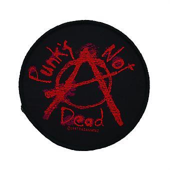 Punks Not Dead Woven Patch