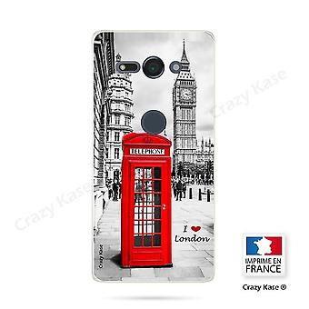 Hull For Sony Xperia Xz2 Compact Soft Pattern London