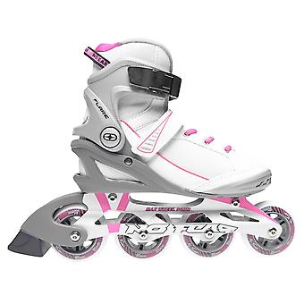 No Fear Womens Ladies Flare Inline Skates Roller Blades Four Wheel Sports