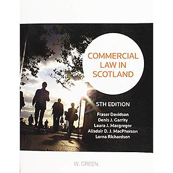 Commercial Law in Scotland by Fraser Davidson - 9780414065642 Book