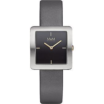 M&M Germany M11956-455 Square line Ladies Watch