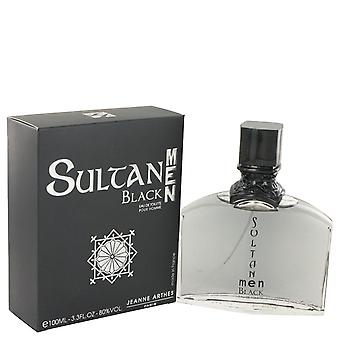 Sultan Black Eau De Toilette Spray By Jeanne Arthes 3.3 oz Eau De Toilette Spray
