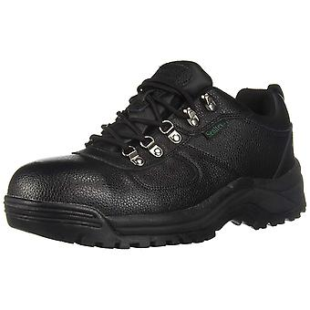 Propét Mens Shield Walker Low Leather Steel toe Lace Up Safety Shoes