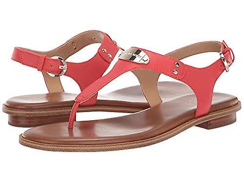 Michael Michael Kors Women's Shoes Plate thong Leather Split Toe Casual Sling...