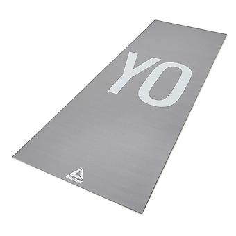 Reebok Double face 4mm tapis de Yoga