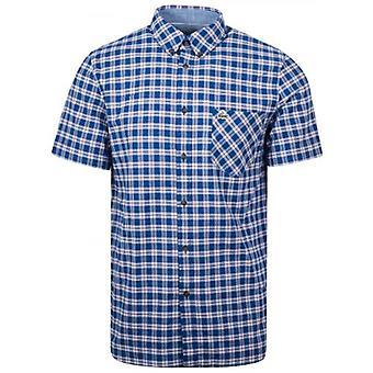 Lacoste регулярные подходят проверенных рубашка с короткими рукавами
