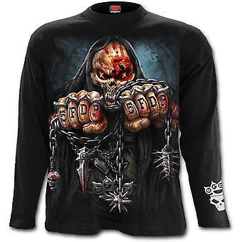 Fünf Finger Tod Punch - Spiel über - Herren Langarm T-shirt