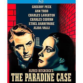 Caso de Paradine (1947) [Blu-ray] USA importar