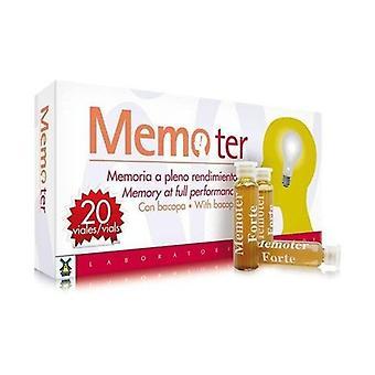 Memoter 20 ampoules