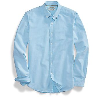 """Goodthreads Men&s """"The Perfect Oxford Shirt"""" Slim-Fit Long-Sleeve Solid, Turq..."""
