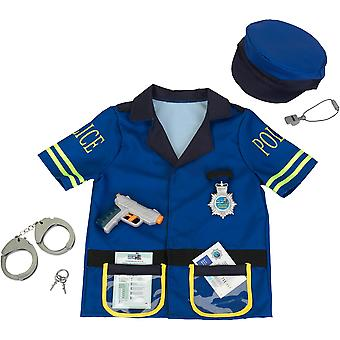 Klein Police Officer Costume With Accessories