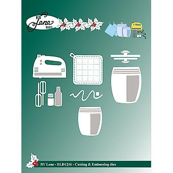 By Lene Baking Equipment 2 Cutting & Embossing Dies