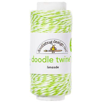 Doodlebug Design Limeade Doodle -side