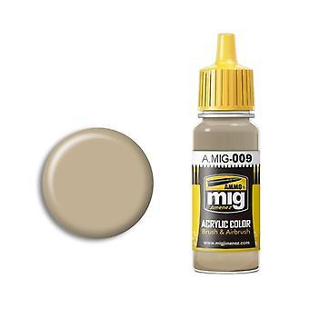 Ammo by Mig Acrylic Paint - A.MIG-0009 RAL 7027 Sandgrau (17ml)