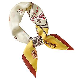 Women's Ladies Elegant Retro Classical Printing Square Scarf Clothing Accessories 70*70