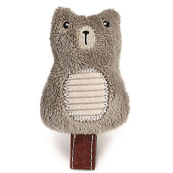 Designed By Lotte Plush Cat Toy Bear - Beige - 7.5cm