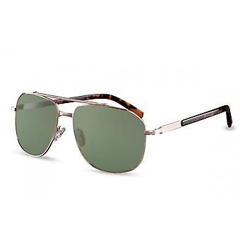 نظارات شمسية للرجال الرجال البيضاوي Cat.3 الفضية / الرمادية (CWI1449)