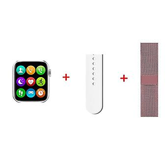 1,75 inch Ips-scherm Ecg Bluetooth Call Smart Watch Mannen Vrouwen voor Apple Watch