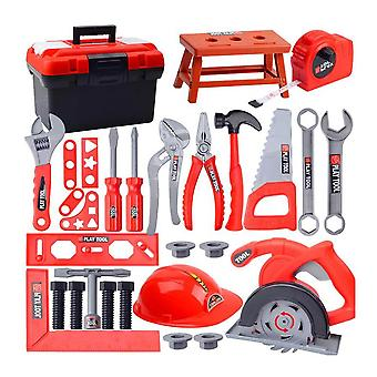 Toolbox Kit For-pretend Play Set