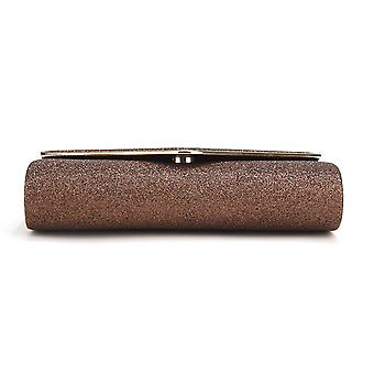 Nodykka Clutch Purses For Women Evening Bags Sparkling, Bronze8, Size One Size