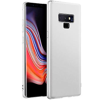 Ultra Thin Shell for Samsung Galaxy Note 9 Silicone Ultra-Slim Solid Color White