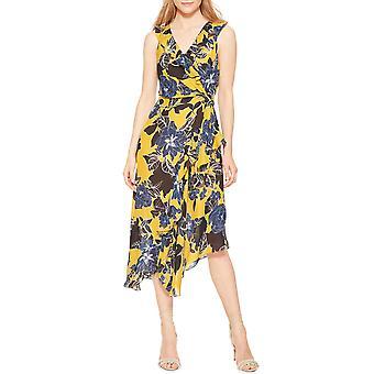 Parker | Loreena Sleeveless Floral-Print Midi Dress