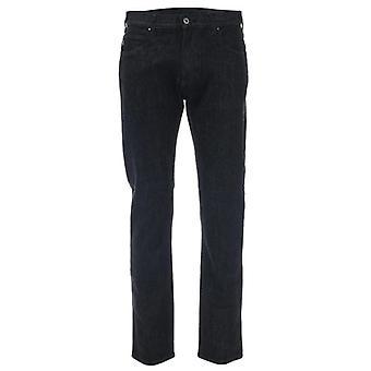 Armani jeans men's j45 black jeans