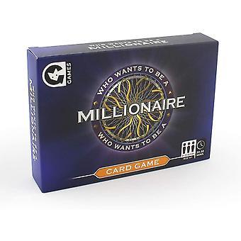 Kuka haluaa olla miljonääri kortti peli