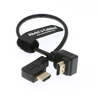 Alvin's Cables Z Cam E2 L Shape 2.0 Hdmi For Portkeys Bm5 Monitor 90 Degrees Up