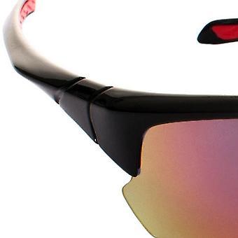 Trespass Adults Unisex Falconpro Red Mirror Sunglasses