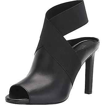 Michael Michael Kors Femmes-apos;s Chaussures Ames Cuir Peep Toe Sandales mule décontractées