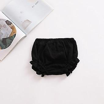 Baby Chiffon Fashion Casual Large Pp Shorts Solid Color Cotton Linen Bloomers Girls Bread Pants