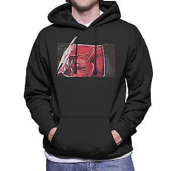 Austin Healey View Of Seats British Motor Heritage Men's Hooded Sweatshirt