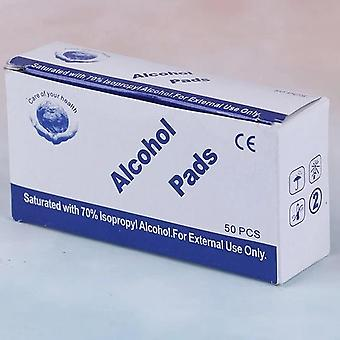 Professional Alcohol Swabs Pads Wet Wipes 70% Isopropy First Aid Home Skin Cleanser Sterilization