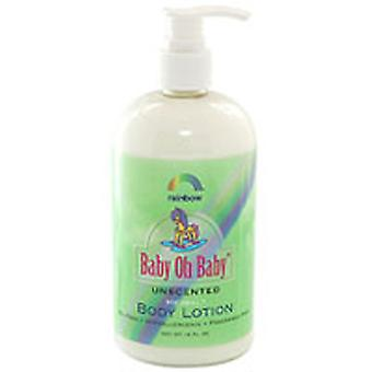 Rainbow Research Baby Oh Baby Body Lotion, Unscented 16 OZ