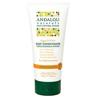 Andalou Naturals Argan Oil & Shea Moisture Rich Deep Conditioner, 5.8 oz