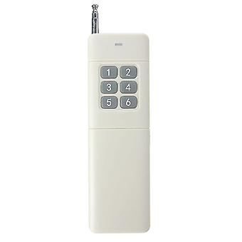 6 Channel 433MHz 3000m Wireless Remote Control For Home Door