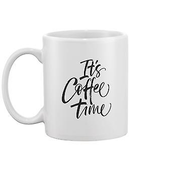 It's Coffee Time Phrase Mug -Image door Shutterstock
