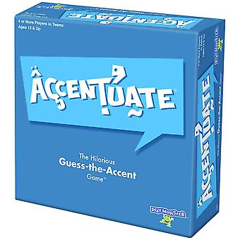 Playmonster - accentuate board game